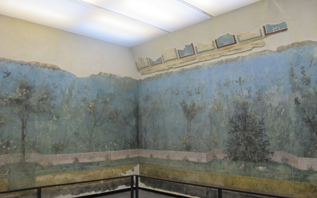 Paradise regained: the painted garden of Livia at Palazzo Massimo