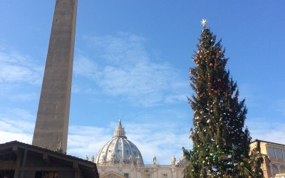 Happy Christmas and very best wishes for 2016 from Rome!