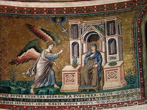 Seeing new things; it's all in the detail – the apse mosaics by Pietro Cavallini at Santa Maria in Trastevere
