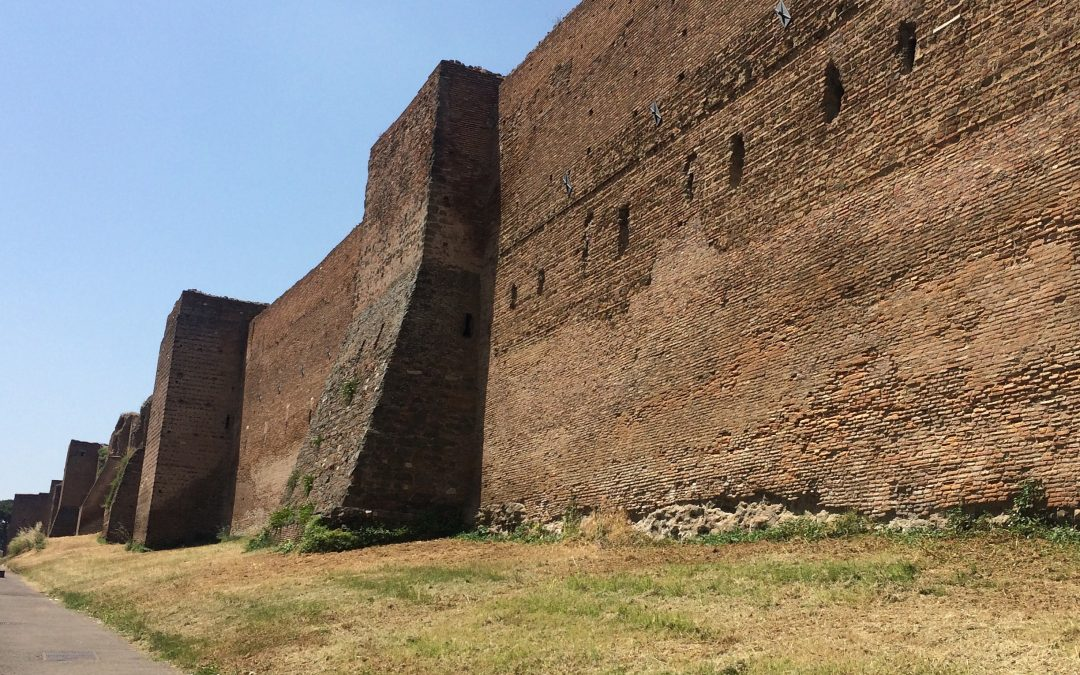 "The Aurelian Wall: Rome's largest ancient monument, or ""one thing too many"""