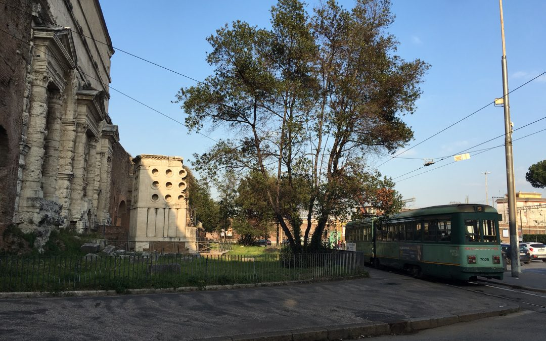 Porta Maggiore: a tangle of ancient and modern