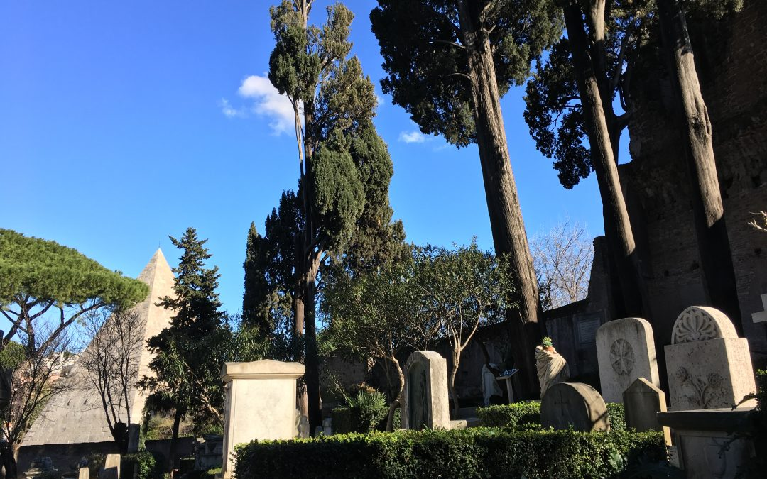 "The ""Protestant"" Cemetery at Testaccio."