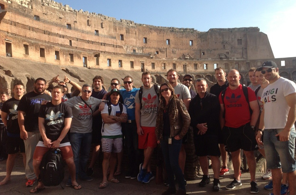 Understanding Rome is officially endorsed by the world's best rugby team ;)
