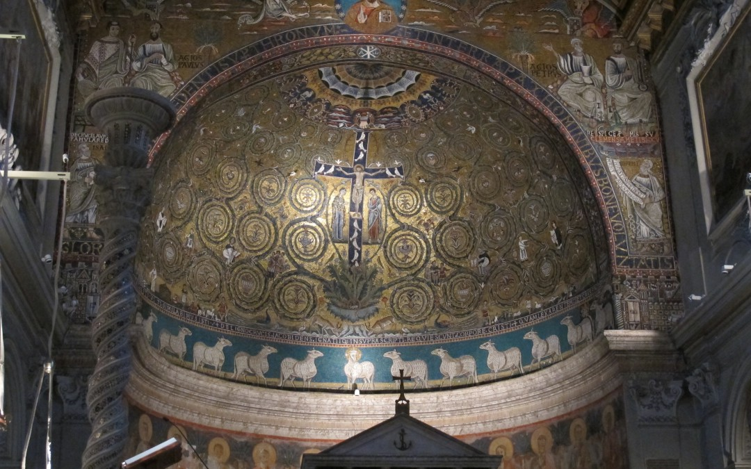Eternal acanthus and the apse mosaics of San Clemente