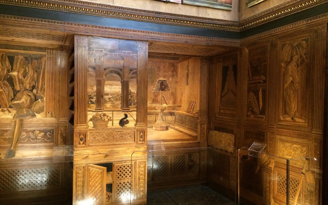 Astrolabes and Armour: The Studiolo of Federico da Montefeltro at Urbino