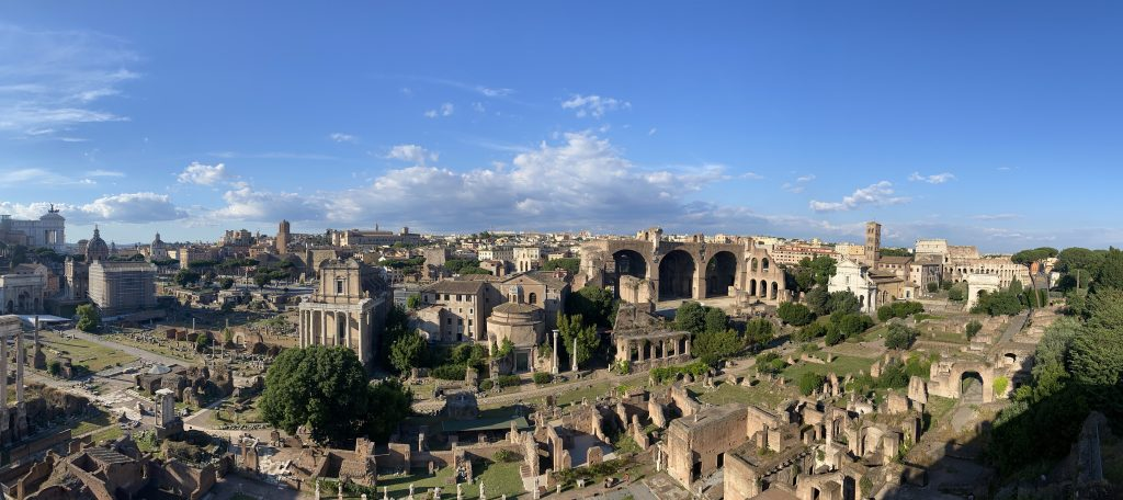 The Palatine Hill & the Roman Forum live, 11 October 2020, 4pm CET.